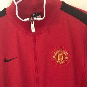 0aa9f302b7a Nike Jackets   Coats - Flawless Vintage Nike Manchester United Jacket